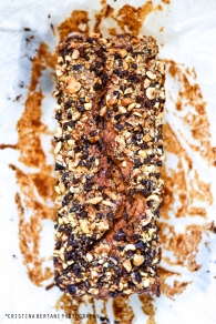 chocolate hazelnut nutella loaf